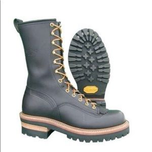 Hoffman's Boots. Black size 9.5. Never worn.